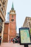 Casa de reunión del sur vieja Boston imagen de archivo