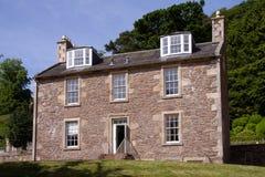 Casa de Roberto Owen, nuevo Lanark fotografía de archivo libre de regalías