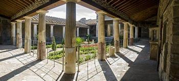 Casa de Roma antiga em Pompeii Imagem de Stock Royalty Free