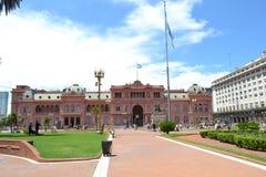 Casa de Rosada fotografía de archivo libre de regalías