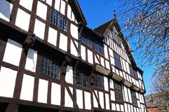 Casa de Rowleys, Shrewsbury Foto de Stock