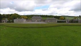 Casa de Russborough Wicklow ireland video estoque