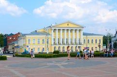 Casa de S geral S Borshchov, Kostroma, anel dourado de Rússia Fotografia de Stock Royalty Free