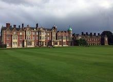 Casa de Sandringham em Norfolk, Inglaterra fotos de stock
