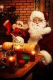 Casa de Santa Imagens de Stock Royalty Free