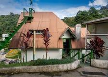 Casa de Santos Dumont, fader av flyg och uppfinnareextraordien royaltyfria bilder
