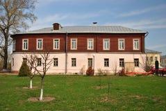 Casa de señorío en el estilo ruso Fotografía de archivo