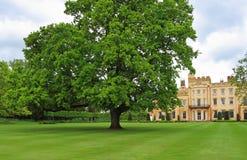 Casa de señorío inglesa del país fotos de archivo libres de regalías