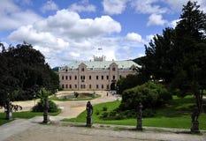 Casa de señorío Klasterec nad Ohri Fotografía de archivo libre de regalías