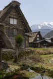 Casa de Shirakawago Imagen de archivo libre de regalías
