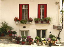 Casa de Skopelos Imagen de archivo libre de regalías