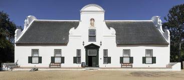 Casa de solar de Groot Constantia Foto de Stock Royalty Free