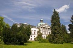 A casa de solar de Topolcianky imagens de stock royalty free