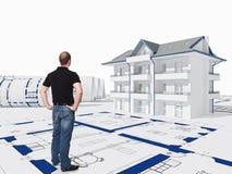 Casa de sonho Imagem de Stock