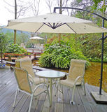 Casa de té al aire libre Fotos de archivo