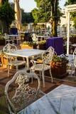 Casa de té cerca de Hagia Sophia Foto de archivo