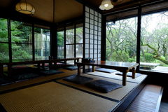 Casa de té tradicional de Japón Foto de archivo