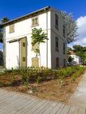 Casa de Templar en Tel Aviv Foto de archivo libre de regalías