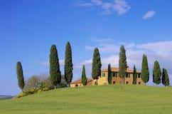 Casa de Toscânia Fotografia de Stock Royalty Free