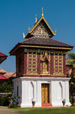 Casa de Tripitaka, Wat Hua Kwang, Nan Tailândia Fotos de Stock