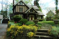 Casa de Tudor Foto de archivo