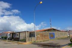 Casa de Unfinnished en la ciudad de Cuman Fotografía de archivo libre de regalías