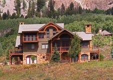 Casa de vacaciones fotos de archivo