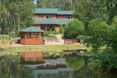 Casa de vacaciones Imágenes de archivo libres de regalías