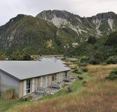 Casa de vacaciones con Mountain View fantástico Fotografía de archivo libre de regalías