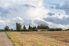 Casa de vacaciones en Tryggelev Fotos de archivo libres de regalías