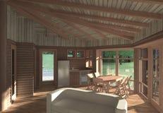 Casa de verão foto de stock
