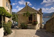 Casa de verano en Croatia Foto de archivo libre de regalías