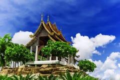 Casa de verano en Tailandia. Foto de archivo