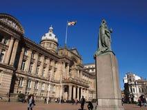 Casa de Victoria Square e do Conselho em Birmingham, Inglaterra imagem de stock