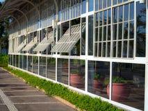 Casa de vidro Fotos de Stock