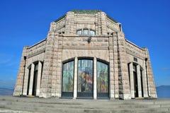 Casa de Vista en Oregon Fotos de archivo libres de regalías