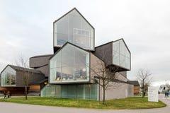 Casa de Vitra como parte do museu do projeto de Vitra Imagens de Stock Royalty Free