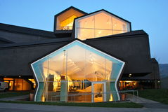 Casa de Vitra por Herzog e por de Meuron Imagem de Stock Royalty Free
