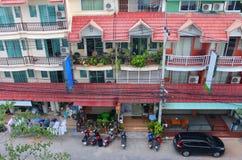Casa de vivienda asiática Fotos de archivo libres de regalías