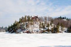 Casa de Wilson, lago Meech fotos de stock