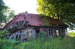 Casa decaída Fotografía de archivo libre de regalías