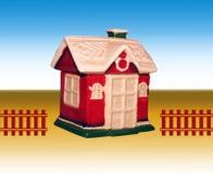 Casa decorativa del giocattolo Fotografia Stock Libera da Diritti