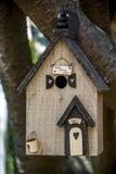 Casa decorativa do pássaro Fotografia de Stock
