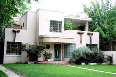 casa degli anni 50 Fotografia Stock Libera da Diritti