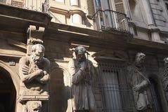 Casa degli Omenoni zdjęcie stock