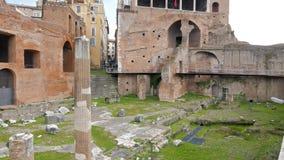 Casa dei Cavalieri di Rodi, Roma, Italy. Video stock video