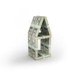 Casa dei soldi Immagine Stock Libera da Diritti