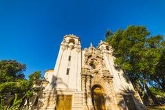 Casa del普拉多在巴波亚公园 库存照片