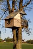 Casa del árbol de los niños Imagenes de archivo