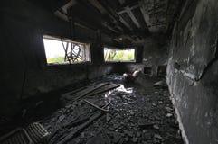Casa del abandono Imagen de archivo libre de regalías